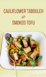 TheGoktor's 5:2 Diet 65-Calorie Moroccan Cauliflower Tabbouleh (Vegan)