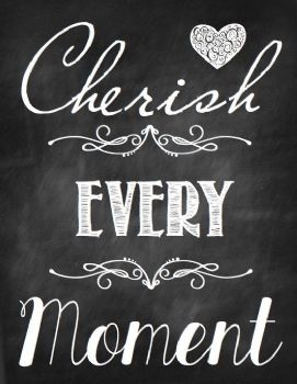 Day 105 Cherish Every Moment Quotes