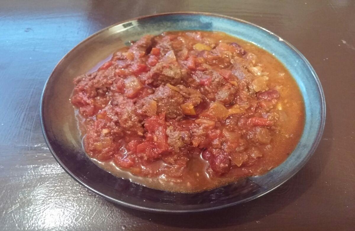 Monkey's Lean Beef chili