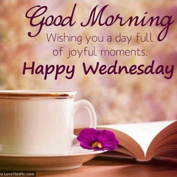 Good Wednesday Morning