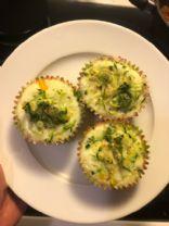 Egg white muffins
