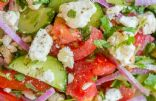 Tossed Green Salad w/tomato & cucumber