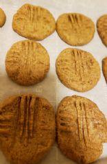 Flourless 3 ingredient Peanut butter cookies