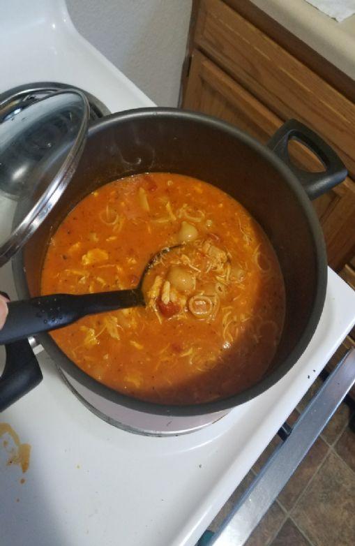 Reames Tomato Basil Chicken Noodle Soup