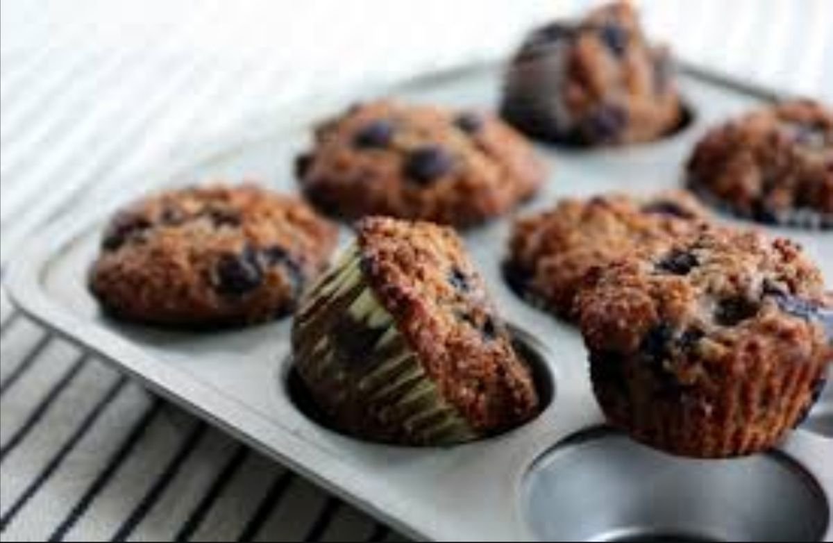 Blueberry Muffins - clean eating