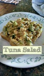 Low Fat Tuna Salad