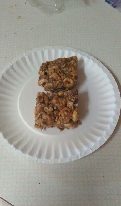 No Bake Chewy Granola Bars Recipe Sparkrecipes