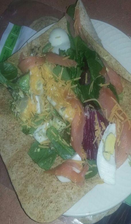 Smoked Salmon & Avocado Wrap
