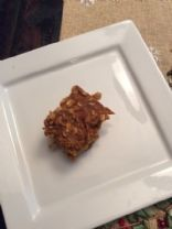 Carrot oatmeal bars Jn