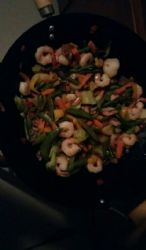 Broccoli Shrimp Stir Fry - From Frozen Veggies