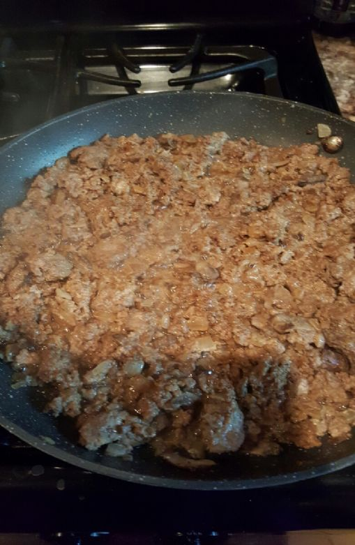 Ground Beef with Mushrooms