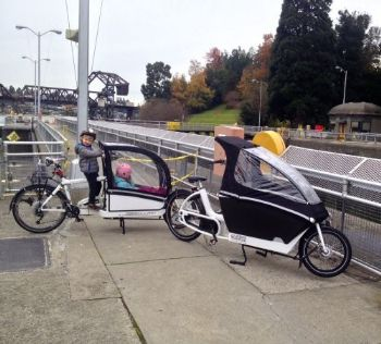 family cargo bike tests urban arrow butchers and. Black Bedroom Furniture Sets. Home Design Ideas