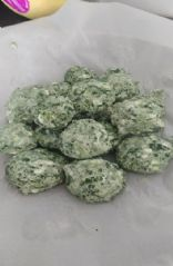 Cheesey Spinich Balls