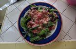 Feta and tomato salad