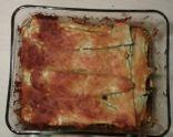 9 Round Zucchini Lasagna (Modified)