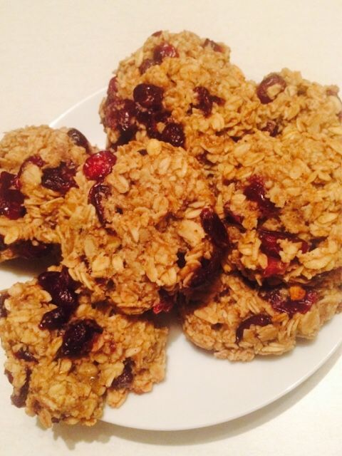 Cranberries Oatmeal cookies