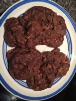 Chocolate Heath Bar Cookies
