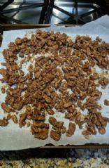 Oven Roasted Cinnamon Pecans