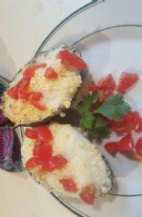 Parm. Avacado & Egg boat