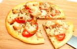 A Slimmer Slice: Fresh Tomato & Chicken Pizza
