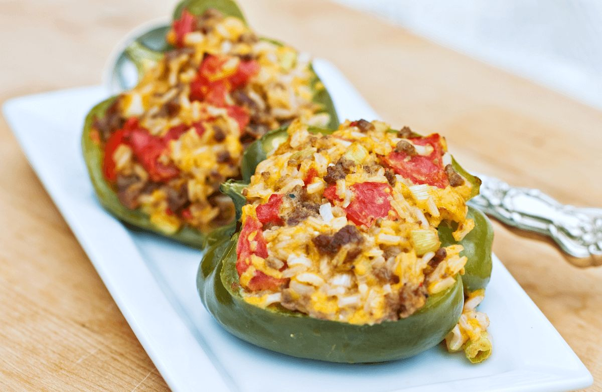 Andy's Turkey-Stuffed Peppers