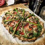 ARTISAN PIZZA—spinach & ricotta/Italian cheese