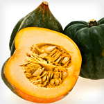 Atkins Acorn Squash with Spiced Applesauce and Maple Drizzle