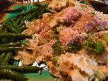 Ahi Tuna, Noodle and Vegetable Skillet Casserole