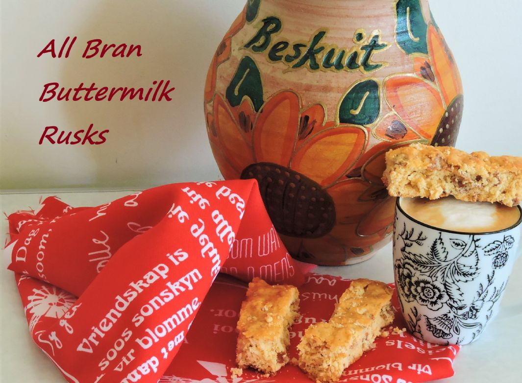 All Bran Buttermilk Rusks