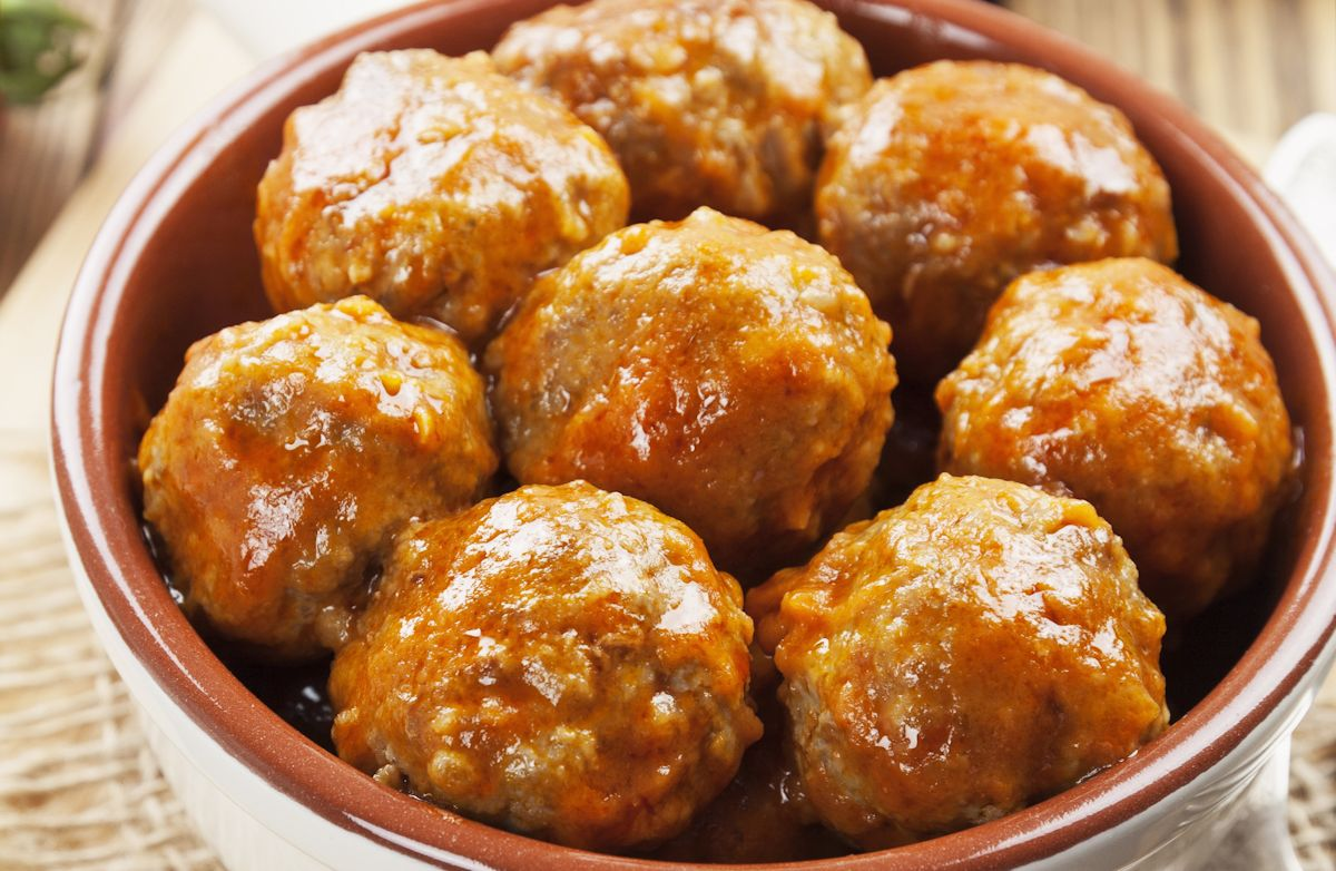 All-Star Pork Meatballs RECIPE