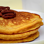 Atkins Almond-Pumpkin Pancakes