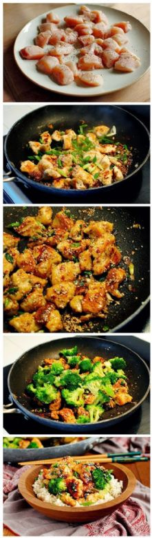 Amber's Lighter Sesame Chicken