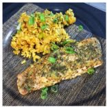 Angie's Baked Salmon with Mustard