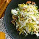 Apple Endive Walnut Blue Cheese Salad