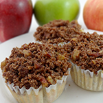 Atkins Apple Muffins with Cinnamon-Pecan Streusel