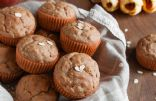 Applesauce Oatmeal Muffins