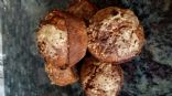 Applesauce Oatmeal Walnut Muffins