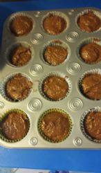 Applesauce protein brownies cupcakes