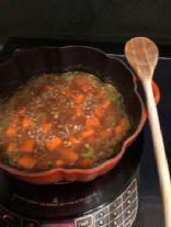Arie's Vegan Lentil Soup