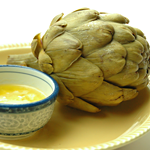 Atkins Artichokes with Lemon-Butter