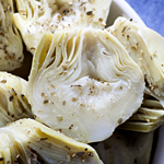 Atkins Artichokes with Three Cheeses