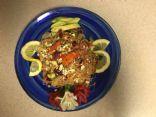 Asian Rice Stick Salad