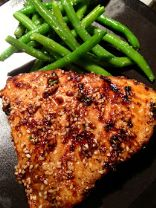 Asian Sesame Broiled Tuna Steak