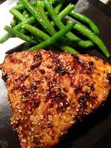 Asian Sesame Broiled Tuna Steak