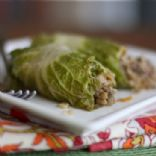 Asian Stuffed Napa Cabbage Rolls - 3 WW Smart Points