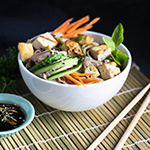 Atkins Asian Vegetable Bowl