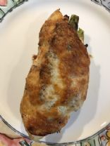 Asparagus & Mushroom Stuffed Chicken Breast