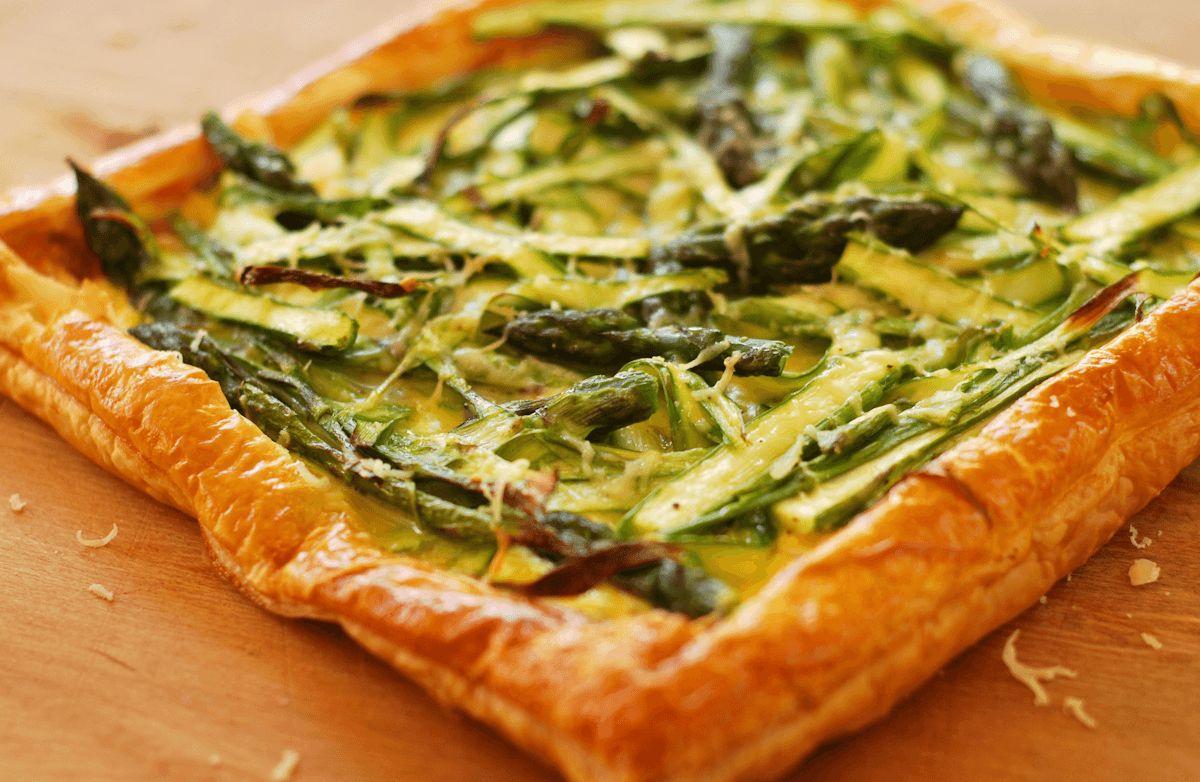 Asparagus Tart with Ricotta