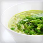 Atkins Asparagus and Leek Soup