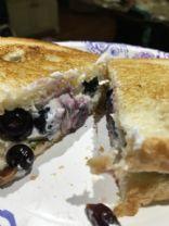 B.B.G.C. Sandwich (Blueberry, Basil, Goat Cheese)